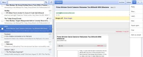 printing mailing labels from gmail contacts hands on offline gmail lets you send read messages sans