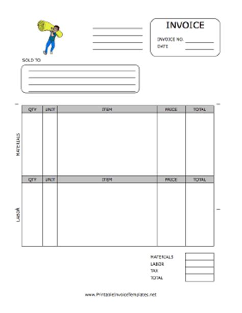 carpet installation receipt template carpet installation invoice template