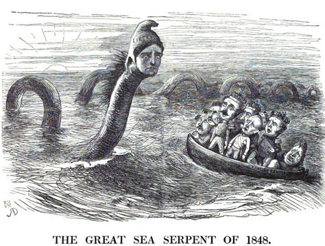 The Great Sea Serpent the great sea serpent of 1848 by richard doyle