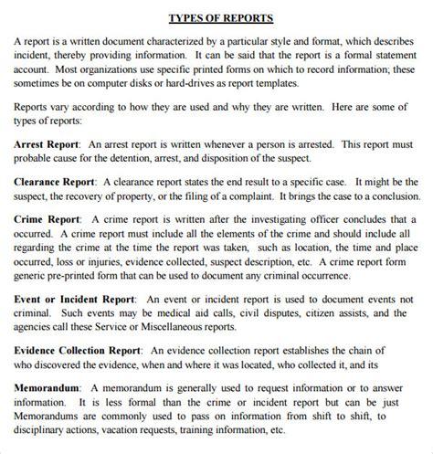 Police Report Writing Training