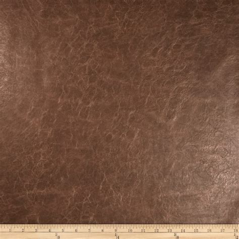 Where To Buy Leather Upholstery Fabric by Richloom Faux Leather Distressed Schwimmer Bark Discount