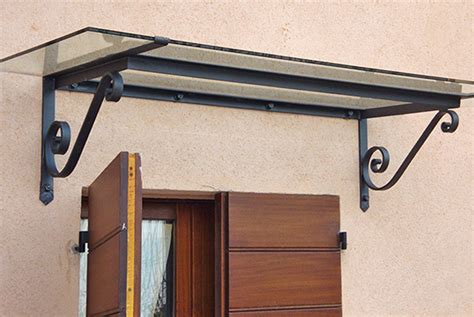 tettoia per porta ingresso tettoie tettoie in ferro battuto a mano per porta