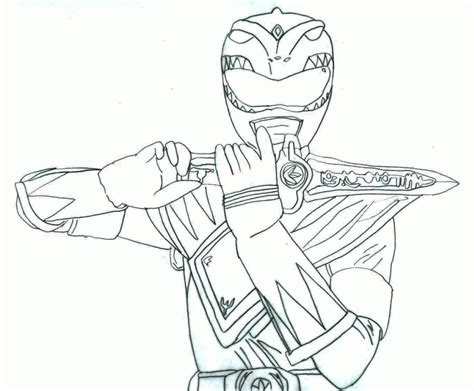 coloring pages green power ranger mmpr coloring pages coloring home