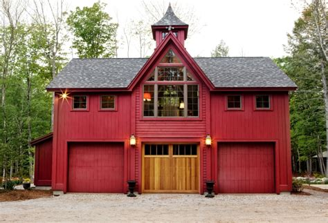 barn style garage with apartment home ideas