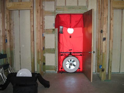 Blower Door Testing by Blower Door Testing Tips