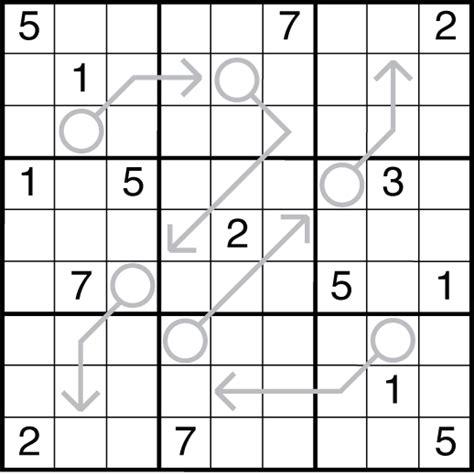 printable arrow sudoku friday puzzle 183 1 fan arrow sudoku the art of puzzles
