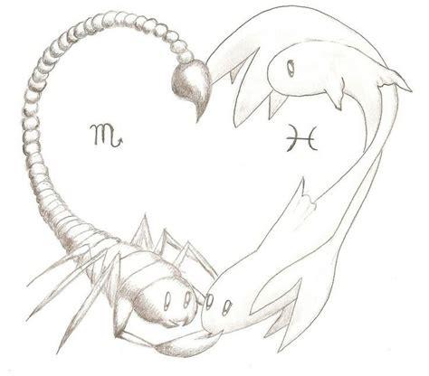 pisces and scorpio tattoo best 25 scorpio zodiac tattoos ideas on