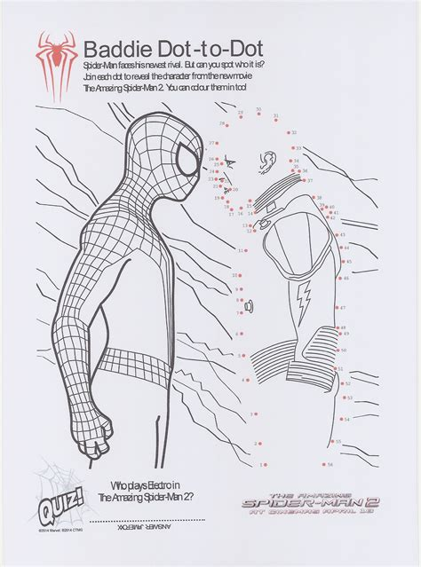the amazing spider man 2 printable et speaks from home