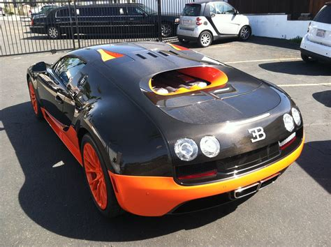 First Bugatti Veyron Supersport Delivered In The Us