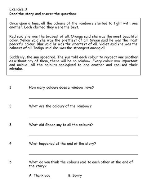 Bee Library: Tahun 1 - Bahasa Inggeris Latihan Pemahaman