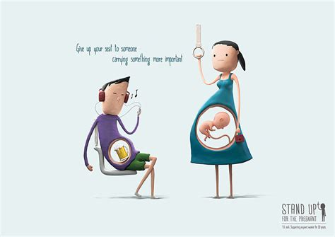 imagenes stand up cute illustrations remind us why pregnant women deserve