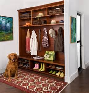 Cabinet To Hang Clothes Mud Room Traditional Hall New York By Transform Home