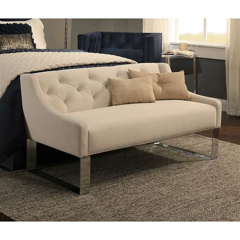 benches for bedroom bedroom sofa bench grey fabric storage bench steal a sofa