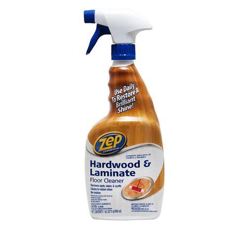 zep  oz hardwood  laminate floor cleaner zuhlf  home depot