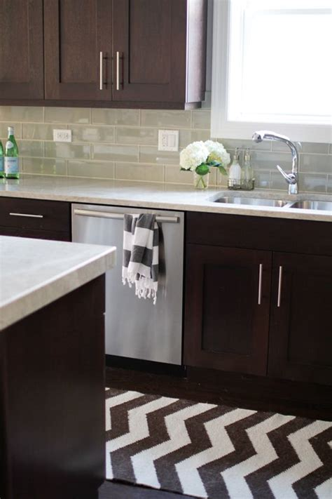 modern dark brown kitchen cabinets selecting home finishes how to make the right choices