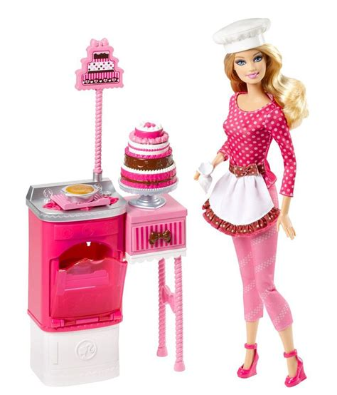 what to buy a chef barbie pastry chef fashion doll buy barbie pastry chef