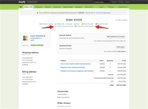 shopify invoice template create customized shopify invoices shopstorm
