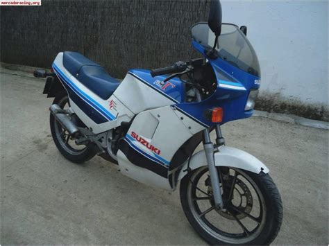 Suzuki RG125 Gamma, year by year Motorcycles catalog