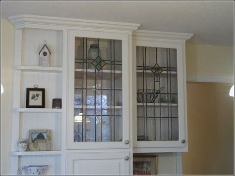 Glass Inserts For Kitchen Cabinets Home Depot by Cabinet Glass Inserts Home Depot Home Design Ideas