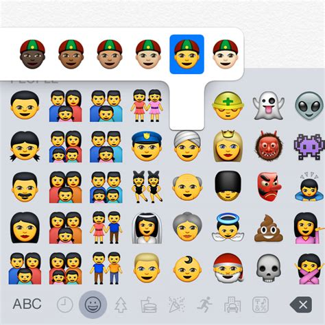 Os Daily Emoji 10 Tx os x 10 10 3 and ios 8 3 betas point toward better emoji diversity updated ars technica