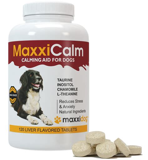 calming medicine for dogs calming tablets maxxicalm reduces anxiety stress relief best natu ebay