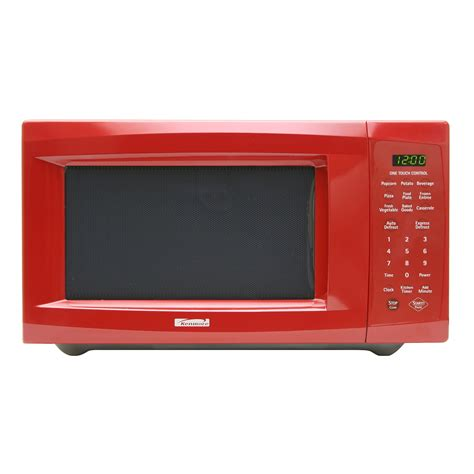 Sears Countertop Microwave by Kenmore Countertop Microwaves 1 1 Cu Ft 66227 Sears