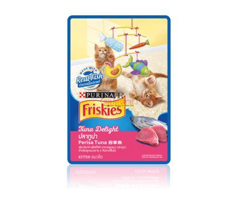Friskies Pouch Sachet 80 Gr friskies pouch tuna delight 80gr indo pet centre