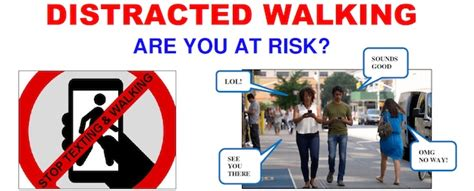 The Dangers Of Distracted Walking by Distracted Walking Puts Us At Risk Larchmont Buzz