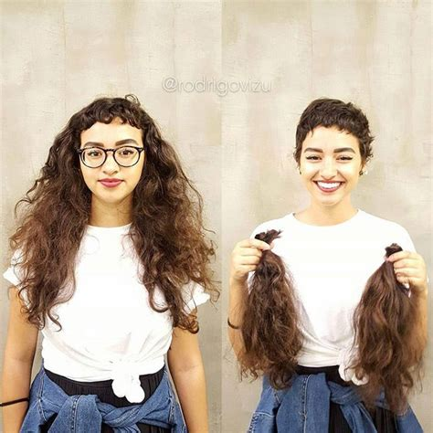 amazing before and after haircuts girls with short haircuts before and after