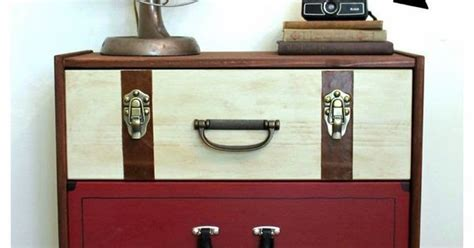 super suitcase with drawers best diy projects ikea rast hack a suitcase dresser