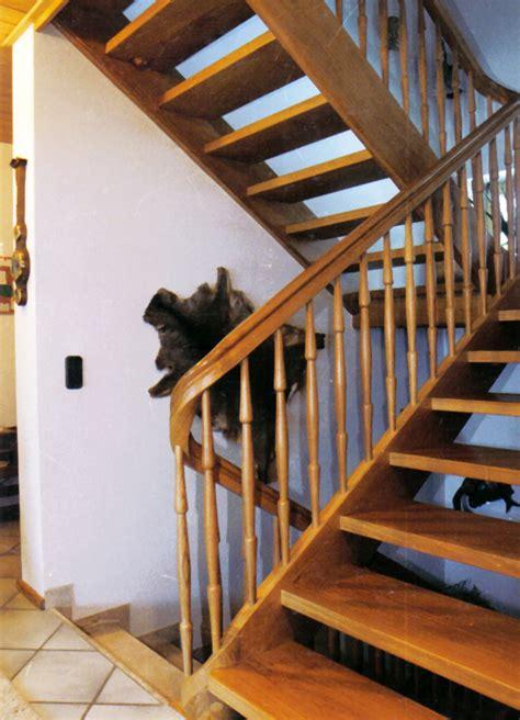 Treppe Handlauf Aussenbereich by Holzwangentreppen Kliegl Treppenbau