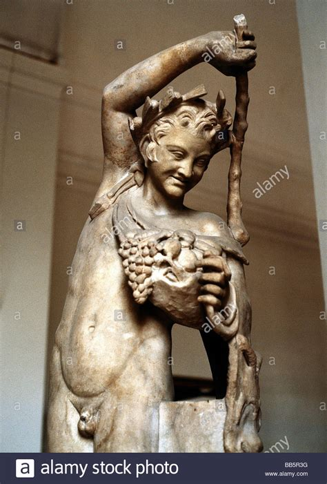 dionysus greek god statue dionysus latin bacchus greek god of wine drunk half