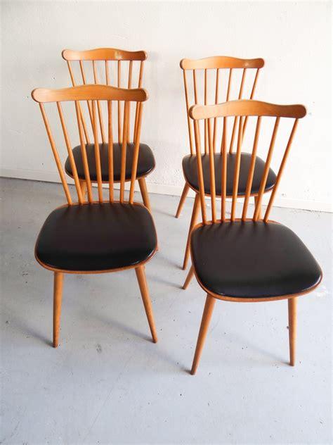 Baumann Chaise chaises baumann en skai vintage d occasion