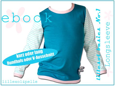 No Basic by Schnittmuster Ebook Longsleeve Shirt F 252 R Kinder Jungs