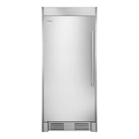 frigidaire professional 18 52 cu ft upright freezer in