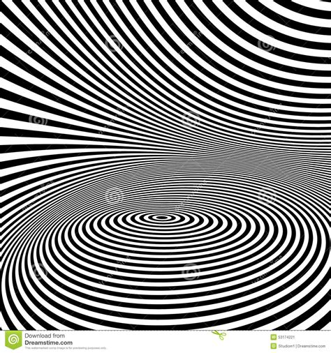 optical pattern black and white pattern with optical illusion black and white stock