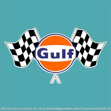 gulf racing logo gulf tagged quot le mans quot stickeredup4lemans
