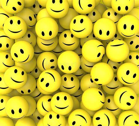 imagenes alegres felices los smiley muestran caras alegres felices stock de