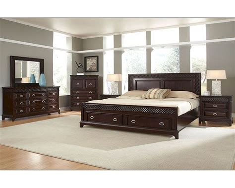 storehouse bedroom furniture najarian furniture bedroom set with storage sonoma na sn