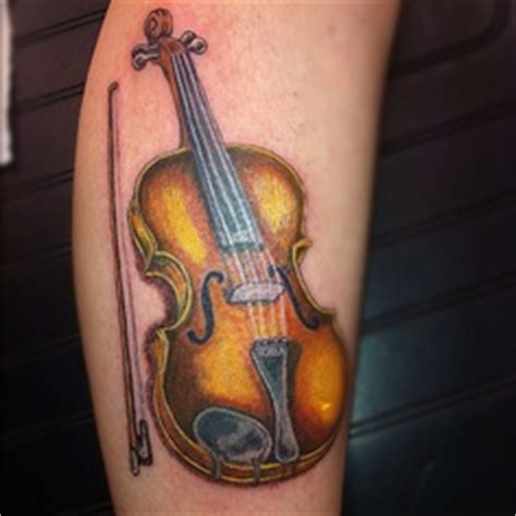 violin tattoo back tattoos piercings on pinterest music note tattoos belly