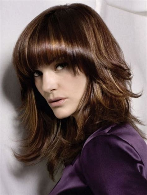 styish layered thick long hair google 80 brightest medium layered haircuts to light you up