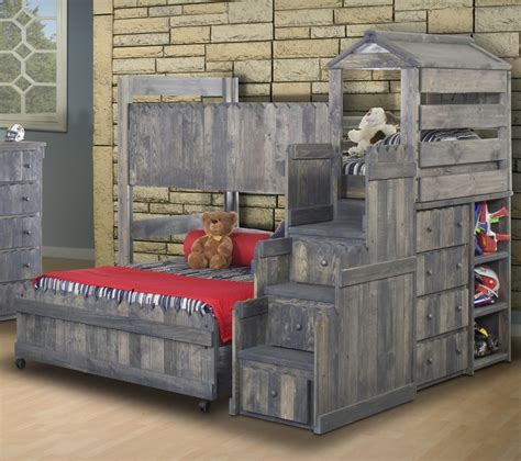 fort bunk bed the fort bunk bed rustic ranch furniture