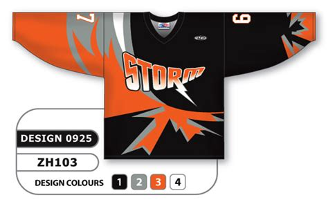 design your hockey jersey online sublimated hockey jersey canadian storm series custom