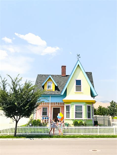 real life house from up visiting the real disney up house in salt lake city utah bespoke wedding