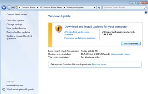 More From 7 by Checking For Updates On Windows 7 Here Is The Fix