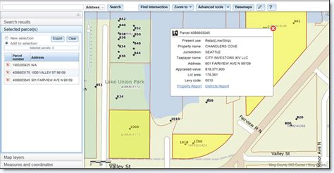 King County Property Tax Search By Address King County Parcel Viewer King County