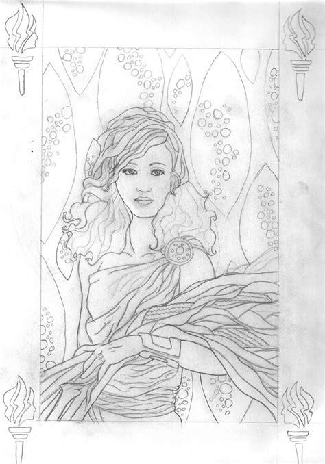 Chrissy's Creative Art Stuff: Sketches of Greek Gods and