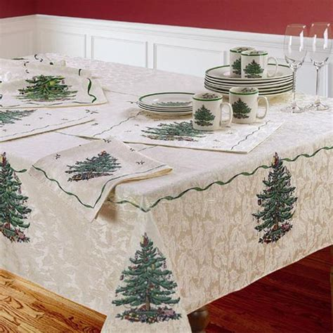 aliexpress com buy spode christmas tree table cloth