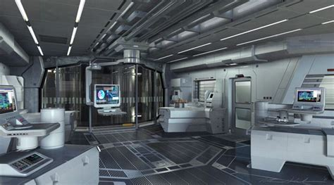concept design with a living lab approach future futuristic interior science fiction laboratory