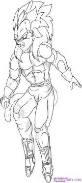 How To Draw Gogeta Super Saiyan From Dragon Ball Gt Step 1209762247  sketch template